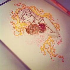 Martin Abel heart drawing
