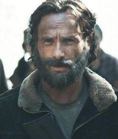 "ANDREW LINCOLN AS RICK GRIMES ON ""THE WALKING DEAD...."""