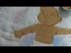 Como pintar pele morena - YouTube