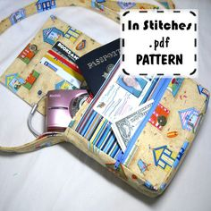PDF Purse Pattern Small Adventure Bag EASY instructions DIY Purse Tutorial. $8.00, via Etsy.