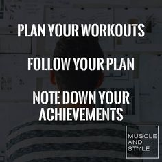 Do you track your progress and your achievements in the gym?