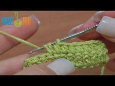 ▶ How to Half Double Crochet Crochet Basics Tutorial 9 - YouTube