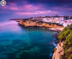 Carvoeiro, Portugal  |  Carvoeiro, or more commonly Praia de Carvoeiro, is a town and a former civil parish in the municipality of Lagoa, Algarve, Portugal.  |  Call Us Now: 0203 515 0801  |  #travel #europe #portugal #carvoeiro #worldairfares