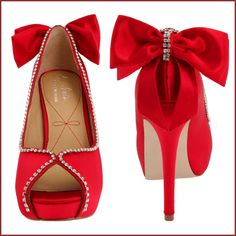 Red Wedding Shoes.