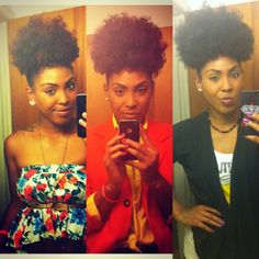she's gorgeous and her hair is amazing.