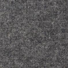 ウール&ナイロン混×無地(グレー&キナリ)×Wニット - fab-fabric sewing studio | online store 布地とオリジナルパターンの通販