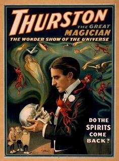 1905 Kar-Mi The Great Circus Magic Vintage Art Magician New Poster Reproduction