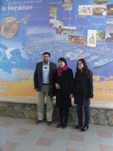 Αντιπροσωπεία του μεγαλύτερου λιμανιού της βόρειας Κίνας, επισκέφθηκε τον ΟΛΗ