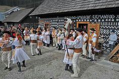 Village of Čičmany and traditional Slovak folklore Holidays In May, Heart Of Europe, Big Country, The Republic, Czech Republic, European History, Bratislava, Eastern Europe, Folklore