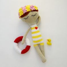 Summertime....and the livin' is easy...☀️ #amigurumi #amigurumitoy #amigurumidoll #amigurumicrochet #crochet #crochetlove #crochetdoll #crochetaddict #yarn #doll #handmade #toy