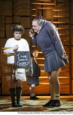 Creating the Visual World of Matilda Matilda Cast, Matilda Broadway, Broadway Theatre, Musical Theatre, Broadway Shows, Agatha Trunchbull, Miss Trunchbull, Broadway Costumes, Theatre Costumes