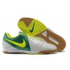 2016 Nike CTR360 Libretto III IC Botas De Futbol Indoor Blanco Verde 49ee458cf4887