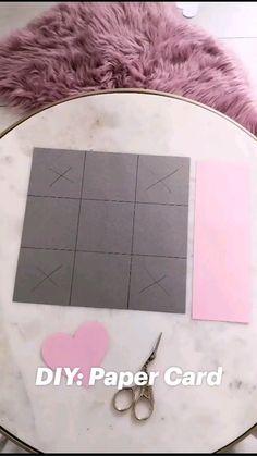 Diy Crafts For Girls, Diy Crafts To Do, Diy Crafts Hacks, Diy Arts And Crafts, Cute Crafts, Diy Crafts Videos, Diys, Instruções Origami, Paper Crafts Origami