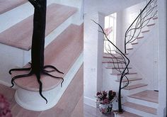 Planted stairs...
