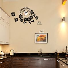 wallsticker hibiscus Wallpaper interior Design