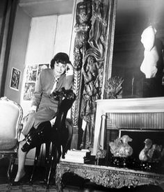 "Coco Chanel in her Paris apartment. ""My life didn't please me, so I created my life"" ~ Coco Chanel Chanel Nº 5, Perfume Chanel, Coco Chanel Fashion, Chanel Brand, Chanel Outfit, Chanel Couture, Chanel Style, Gabrielle Bonheur Chanel, Mademoiselle Coco Chanel"