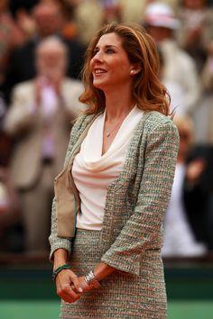 Monica Seles - Women's Singles Trophy Presentation - Roland Garros 2012