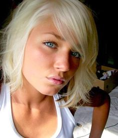 eyes Amateur blue allure blonde