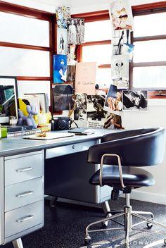 Chiara Ferragni Los Angeles Home Desk
