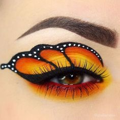 WEBSTA @ makeupaddictioncosmetics - ☀️ Love this creative look by @giuliannaa!#MakeupAddictionBrushes #Makeupaddictioncosmetics