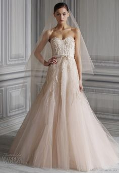 Wedding dress by Lhuillier
