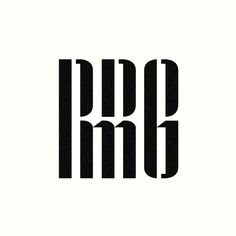 RRMG monogram designed by Richard Baird.