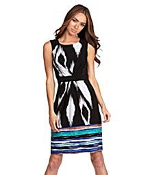 cute pattern sheath dress for student teaching