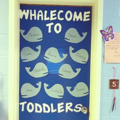 Design for a toddler classroom (or any type of classroom!) very easy and clever!