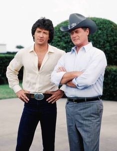 Bobby & J.R. Ewing | Patrick Duffy & Larry Hagman