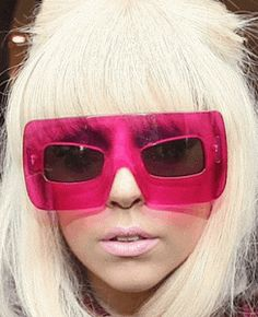 Lady Gaga - Marc Jacobs Mask. Sunglasses After Dark.....