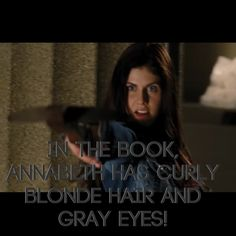 Things wrong with the Percy Jackson movie! Okay I'm usually pretty laid back with people's book to movie apperances, but this is not right. Rick wrote MANY times how she had blonde hair. I understand about the gray eyes, because those are hard to find, but there's blonde hair dye in every drugstore in America.