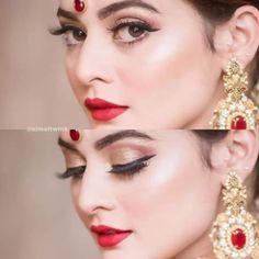 Pakistani Bridal Lehenga, Pakistani Bridal Jewelry, Bridal Outfits, Bridal Jewellery, Amai, Bride Look, Bride Makeup, Wedding Photoshoot