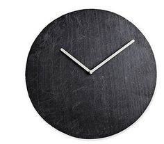 14 Wall Clocks That Make Us Tick: Slate Wall Clock ($95)