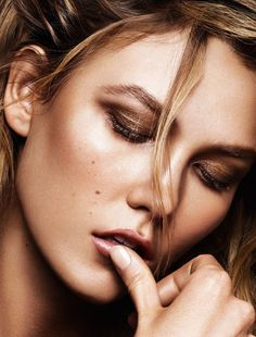 Karlie Kloss by Alique for Glamour France June 2015