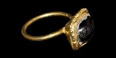 Gold Amuletic Intaglio Ring, 15th-16th century