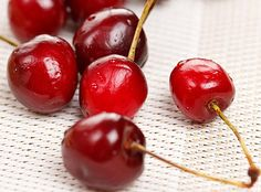 Tart cherries contain special antioxidants called anthocyanins, which protect the body from the damaging effects of free radicals.