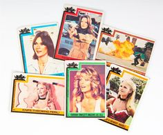 """Charlie's Angels"" trading cards, from ""Whatever Happened to Pudding Pops?"""