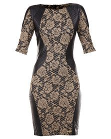Perfect Fit Jaikin Lace Bodycon Dress Beige Playsuits, Perfect Fit, All Things, Latest Trends, Bodycon Dress, Beige, Clothes For Women, Lace, Stuff To Buy