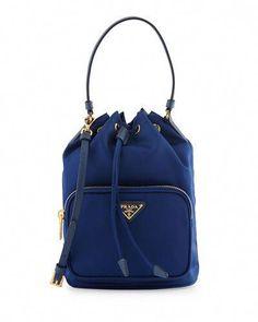 9d70455241 L0MUZ Prada Tessuto Mini Bucket Crossbody Bag  Pradahandbags