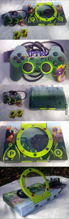 Custom Spyro PS1, first time seeing a custom PS1