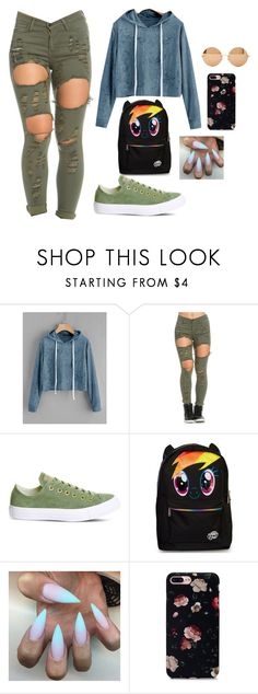 """#3"" by luna-djjoganio ❤ liked on Polyvore featuring Converse and Victoria Beckham"