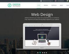 "Check out new work on my @Behance portfolio: ""Zadon Technology, website design"" http://be.net/gallery/47152047/Zadon-Technology-website-design"