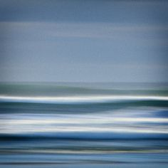 "Ocean Nature Photography ""Into the Surf"" Blue Gray White Wave Sea Photograph Abstract Ocean Photo Nautical Seascape Art Wall Decor 8x8 Print. $24.00, via Etsy."