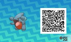Gible PLEASE FOLLOW ME FOR MORE DAILY NEWS ABOUT GAME POKÉMON SUN AND MOON. SIGA PARA MAIS NOVIDADES DIÁRIAS SOBRE O GAME POKÉMON SUN AND MOON. Game qr code Sun and moon código qr sol e lua Pokémon Nintendo jogos 3ds games gamingposts caulofduty gaming gamer relatable Pokémon Go Pokemon XY Pokémon Oras
