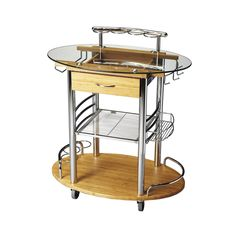Try something you've never tried before at your next dinner party. Concoct drinks with a futuristic twist, straight from this Googie-inspired bar cart.
