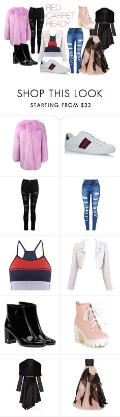 """""""RED CARPET READY"""" by klb12-love on Polyvore featuring beauty, Gucci, Dorothy Perkins, WithChic, LNDR, Chanel, Yves Saint Laurent, BCBGMAXAZRIA and Reem Acra"""