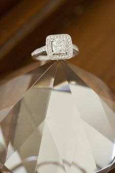 Square cut stunner: http://www.stylemepretty.com/florida-weddings/2015/05/24/rustic-lakeland-wedding-at-rocking-h-ranch/ | Photography: Andi Diamond - http://www.andidiamond.com/