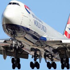 British Airways World Cargo Boeing 747 freighter