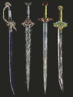 DeviantArt is the world's largest online social community for artists and art enthusiasts, allowing people to connect through the creation and sharing of art. Fantasy Sword, Fantasy Armor, Fantasy Weapons, Medieval Fantasy, Art Poses, Drawing Poses, Character Inspiration, Character Art, Anime Weapons