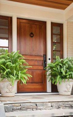 Pretty Wood Front Door - Terracotta Properties
